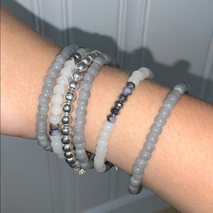 six piece bracelet bundle